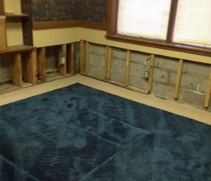 Water Damage in Amelia, Ohio After