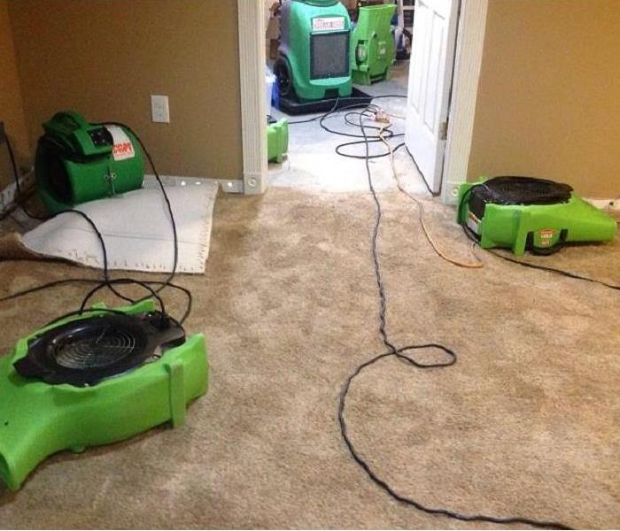 Water Damage in Batavia, Ohio After