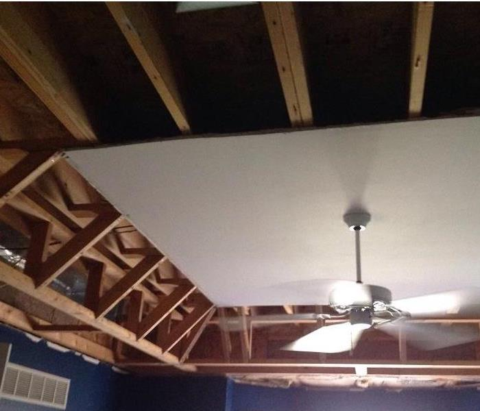 Water Damage in Milford, Ohio After