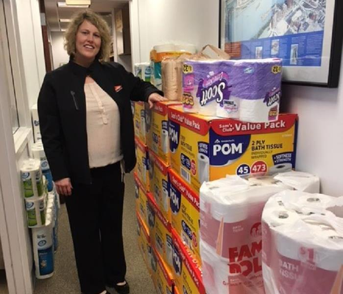 Helping Those In Need - Toilet Paper Drive