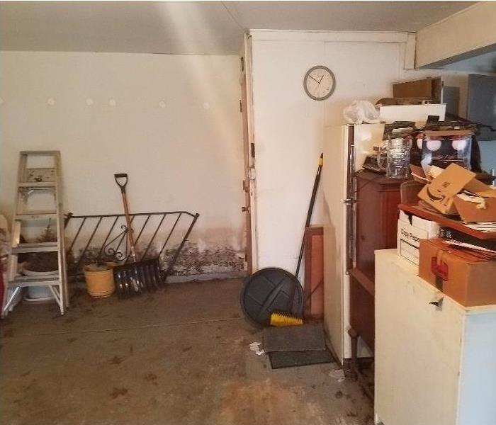 Storms Cause Flooded Basement