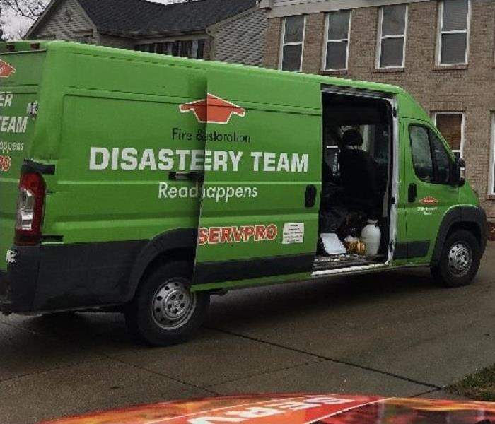 Water Crews are On-Site in Anderson, Ohio after Flooded Basement