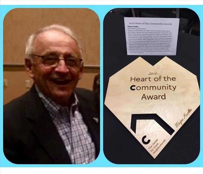 Wayne Hartke Receives 2016 Heart of the Community Award for Dedication to Covington, Kentucky