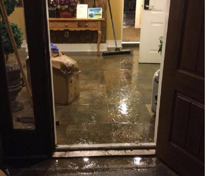 Office Near Milford, Ohio Suffers Water Damage