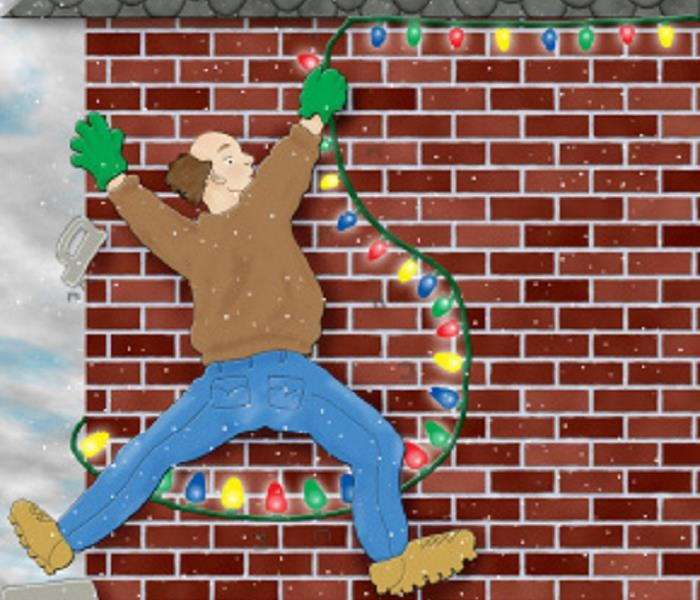 Storm Damage Tips for Hanging Holiday Lights