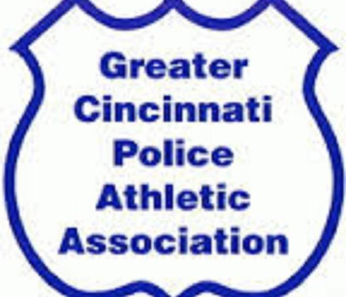 Commercial SERVPRO of Cincinnati East Supports The Greater Cincinnati Police Athletic Association