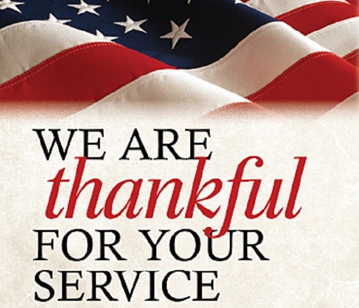 Commercial We are Thankful for Your Service!